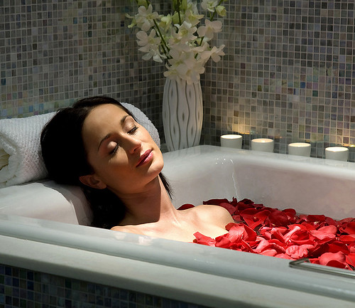 Rose Petal Bath by Paul Tillinghast
