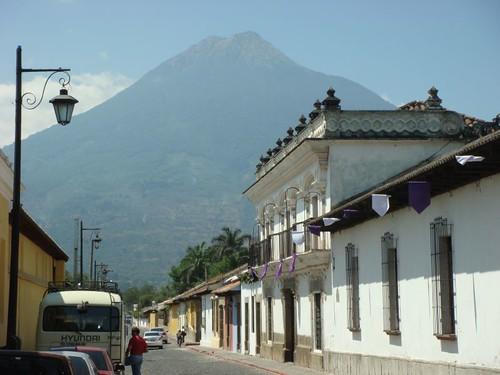 Volcán Agua from Antigua.