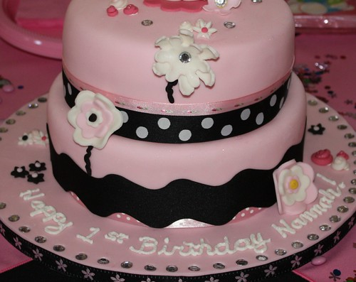 Hello Kitty Birthday Cake Bottom portion