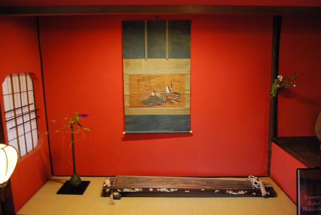Decoración de la Casa de geishas Shima de Kanazawa