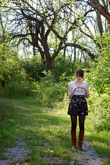 (Kate Pulley) Tags: amanda girl forest 50mm franklin spring nikon fairy tennesse pinkerton d80