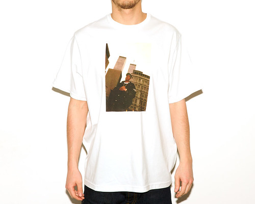 Staple A=3MC Jay-Z Tee White