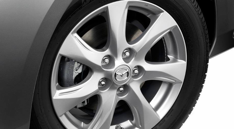 17-inch alloy wheels Mazda 3