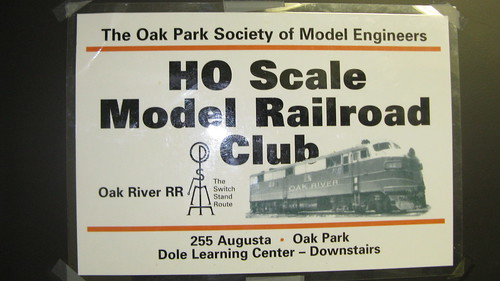 The Oak Park Society of Model Engineers. Oak Park Illinois. March 2009. by Eddie from Chicago