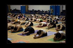 Ashtanga Yoga New York City (yogasurf) Tags: new york city yoga class led teach primary asana sharath ashtanga yogasurf
