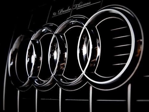 Audi Logo Keyring Black Audi Black Edition Keyring Mycarkeyring - Audi symbol