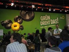 Grünen-Parteitag: Bühnenbild