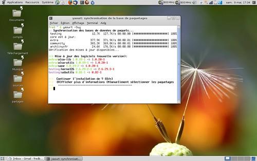 Arrivée du noyau linux 2.6.29.3 sur Archlinux