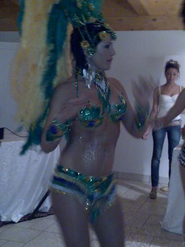 Ballerine Brasiliane alla Cena Party Cacao Café da Peccati di Gola