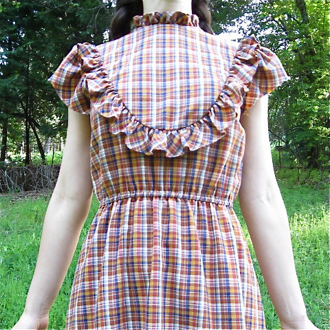 Perfect Plaid Prairie Sundress