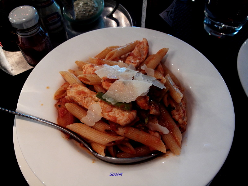 Chicken Pasta @ RiverWalk Eatery, Macau Tower, Macau