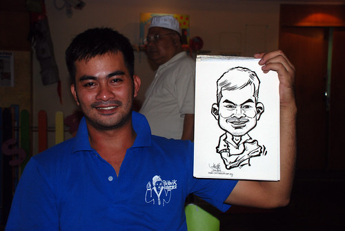 Caricature live sketching for Costa Sands Resort Day 3 - 9