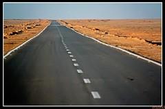 Desert road (erster83) Tags: desert egypt ägypten wüste schulzaktivreisen