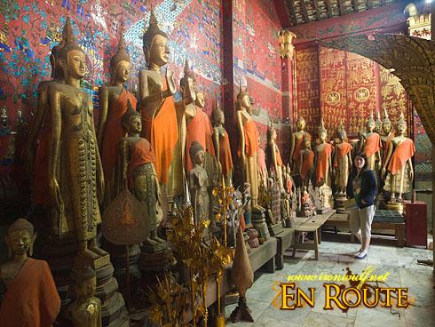 Wat Xieng Thong Well Preserved Buddha Statues