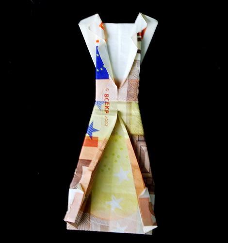 50 Euro Origami Dress