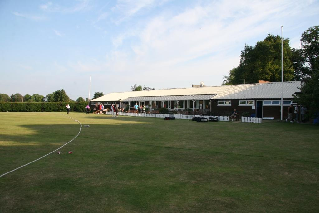 The Clubhouse - the South West cornerstone of the ground
