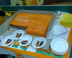 Cake at Woolworths Balmain