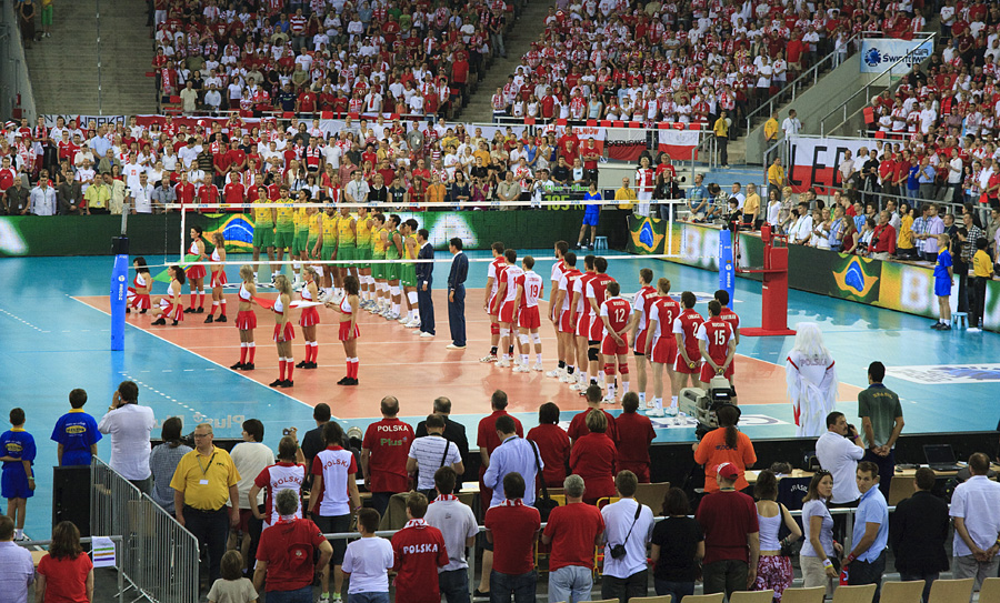 Poland - Brasil / Volleyball Match