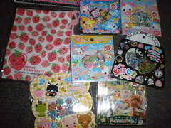 Stickers (tazi_bears) Tags: shopping kawaii stationery swaps penpals memopads lettersets swappers janetstore envelopesgiftbagsstickersstickersacks