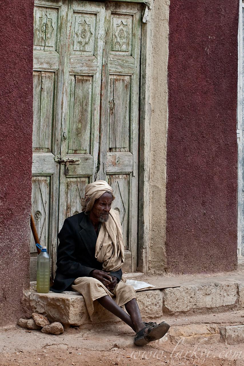 Old Man, Harar, Ethiopia, July 2009