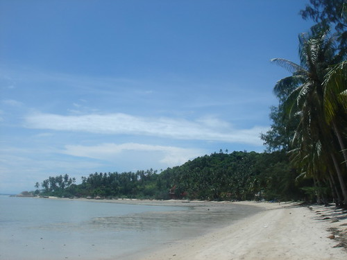 Empty stretch on Nai Wok Beach, Ko Pha Ngan
