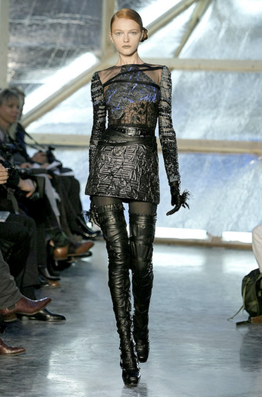 Fall 2009 thigh-high boots Rodarte