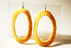 yellowhoopearrings