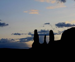 The 3 Sisters (Harmeet ) Tags: morning sunset red arizona sky usa sun mountain mountains tourism monument nature silhouette sunrise poster spectacular landscape utah photo amazing scenery perfect photographer village view desert postcard scenic scene villages grade valley soe scenry the nebelig blueribbonwinner neblig a platinumphoto aplusphoto diamondclassphotographer theunforgettablepictures goldstaraward