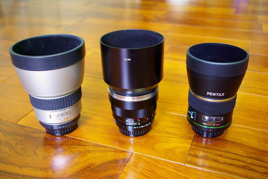 DA* 55 vs. FA*85 vs. Zeiss 85