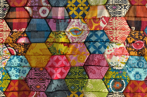 Flickriver: Most interesting photos from ComfortStitching's Half ... : half hexagon quilt - Adamdwight.com