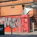 Belfast City - Writers' Square (Graffiti)