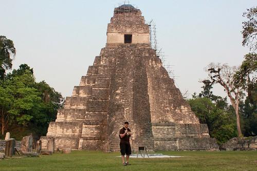 Temple 1 at Tikal, Guatemala