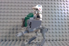 LEGO Clone AT-RT Walker (leifbankmand) Tags: for lego leg some walker credit goes custom clone atrt legoboyproductions