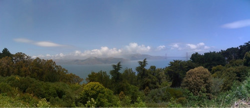 View from the Legion of Honor by suzipaw
