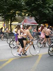 Nude Bicyclers Parade (thessaloniki) (Nick Papakyriazis) Tags: bicycle nude parade greece thessaloniki