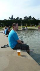 Dansende fontein