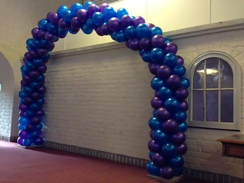 Ballonboog 8m  Leerhotel Het Klooster Amersfoort
