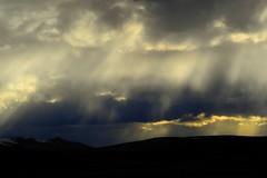 Sunset Landscape, Tibet.