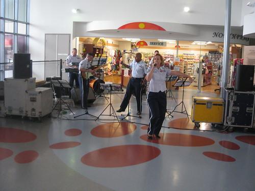 USAAF band