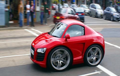 Mini Audi R8