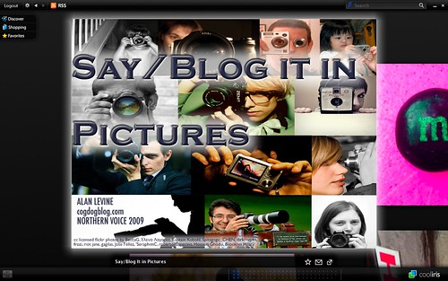 Say/Blog It in Pictures Northern Voice Preso