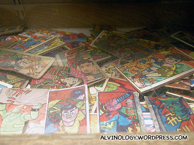 retro Japanese playing cards