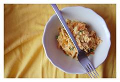 Mexican Scrambled Eggs (Karolina Wojnar-Waowska) Tags: breakfast eggs scrambledeggs jajka jajecznica niadanie mexicanscrambledeggs jajecznicapomeksykasku