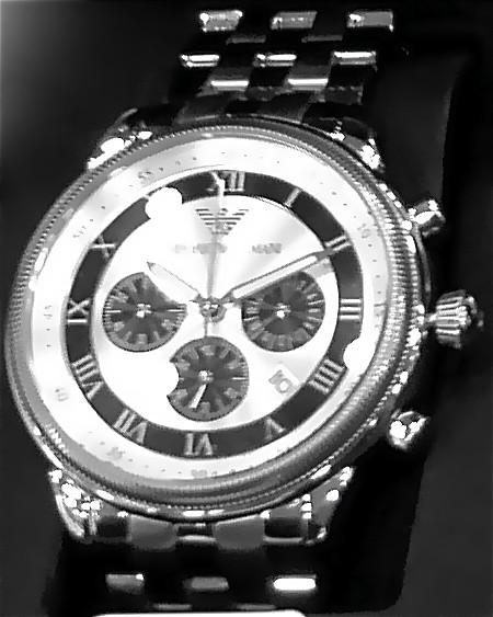 clock silver watches watch timepiece strap wrist armani emporioarmani emporio