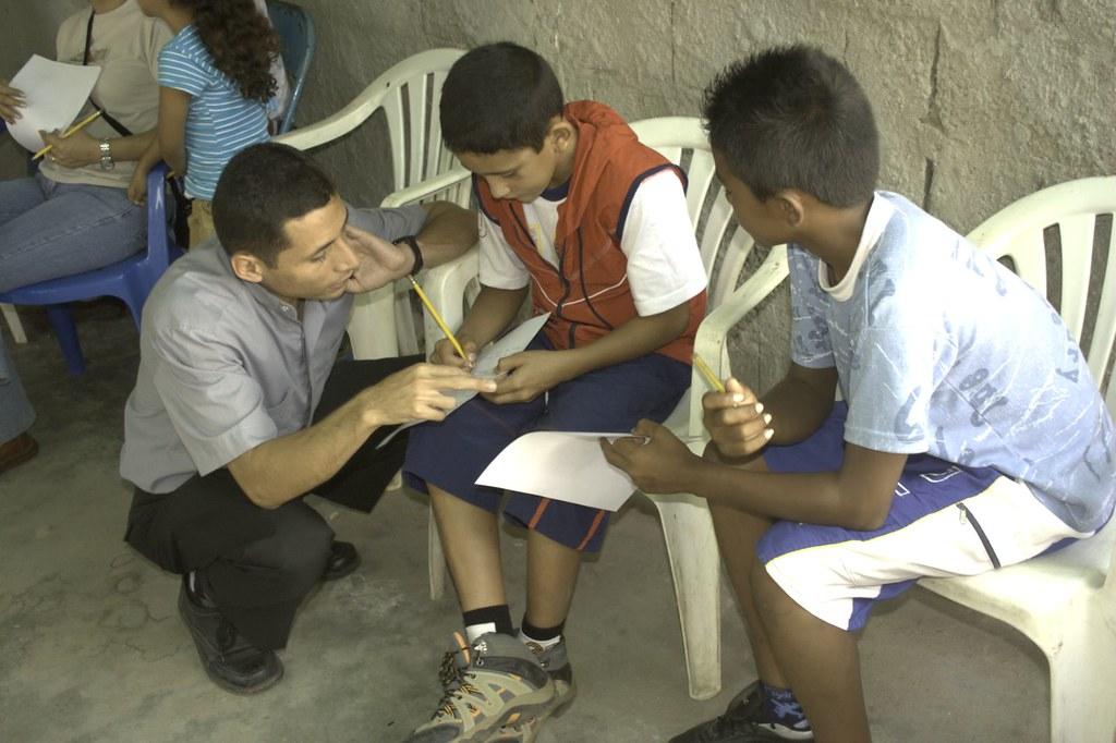 Pastor Miguelangel, Pedro and Sandro