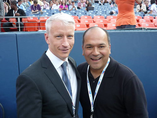 Anderson Cooper and Greg Hernandez by you.