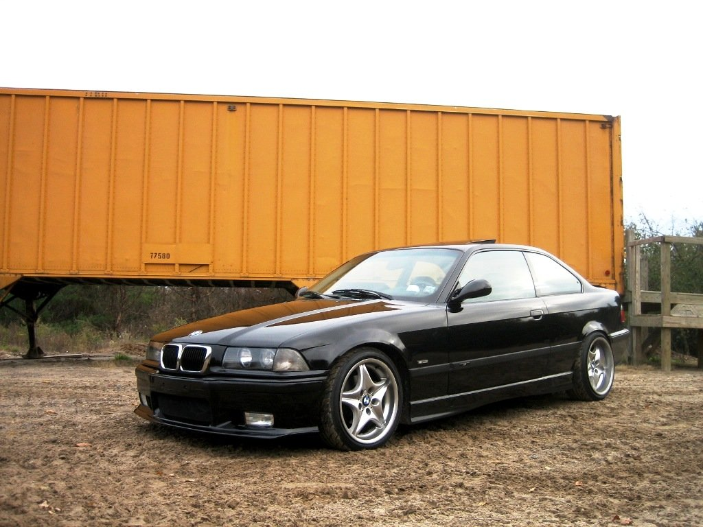 E36 With Z3 Style 40 Wheels