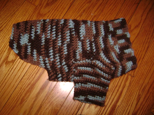 Crochet Doggie Sweater Pattern Free Crochet Patterns Dog ...