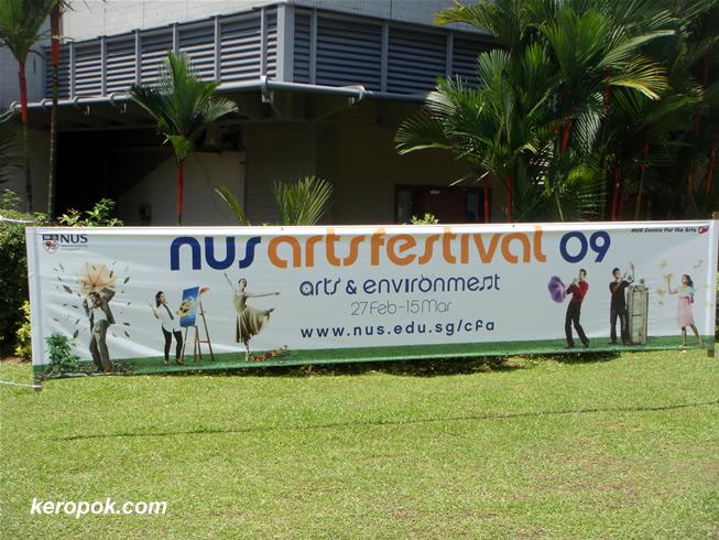 NUS Arts Festival Banner