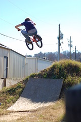 Will Govus (GarrettAndersonPhotography) Tags: old bike ga bmx ramp will ellijay govus